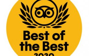 "Gewinner des Traveller's Choice Award 2020 ""Best of the Best"" in der Kategorie: Romantik Hotels in Deutschland, Bild 1/4"