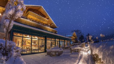 Winter wonderland at hotel das ruebezahl