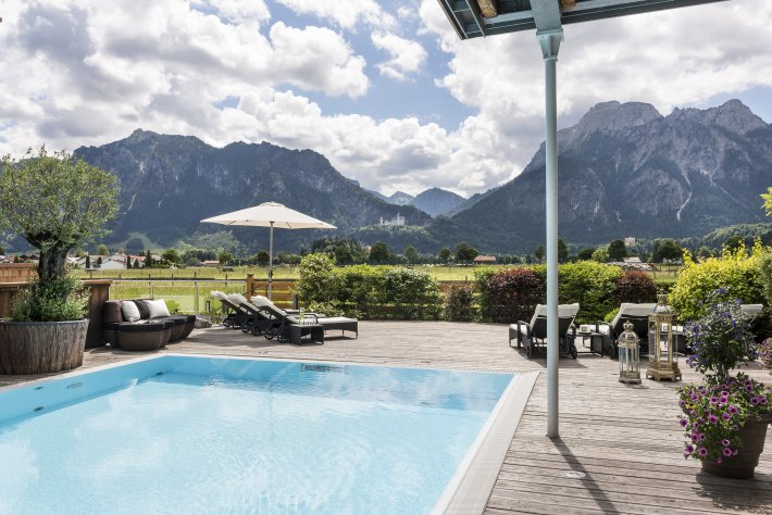 Wellness holidays in the wellness & spa hotel Das Rübezahl in Schwangau, Allgäu