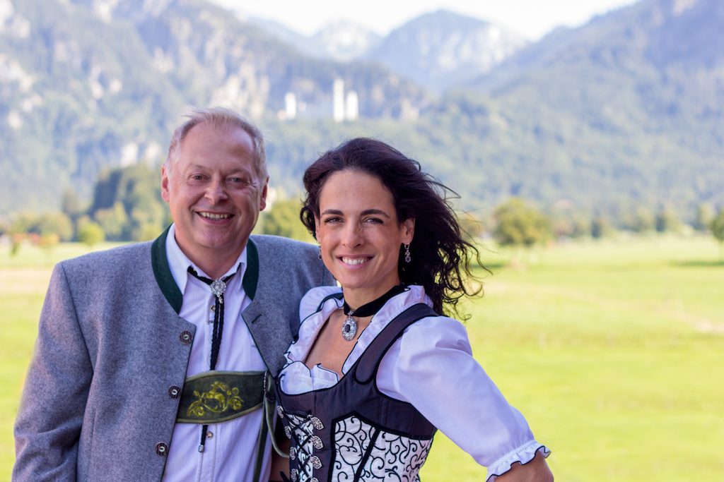 Family Thurm of Hotel Ruebezahl in the Allgaeu region